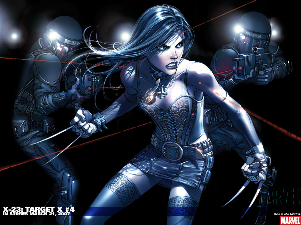 Nerds na Masmorra: Personagens Preferidos: Laura Kinney (X-23) X 23