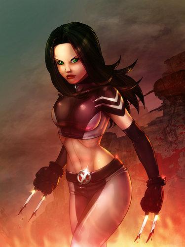 X-Men wallpaper containing a bikini entitled X-23