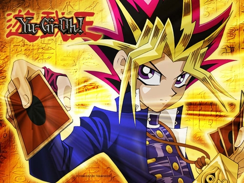 Yu-Gi-Oh fond d'écran possibly with animé called Yami Yugi