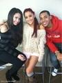 Young Jinsu, Ariana Grande, Jasmine V