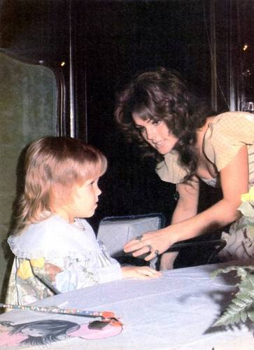 Young Priscilla and lovely Lisa