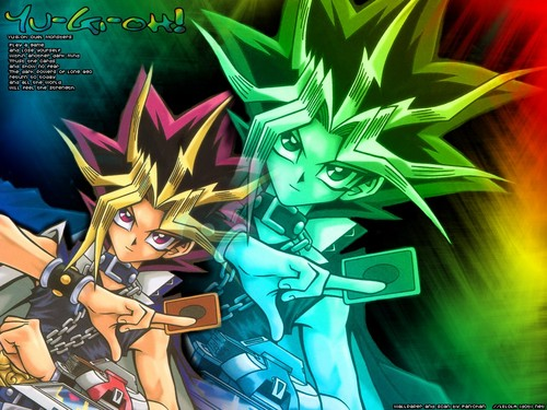 Yu-Gi-Oh wallpaper containing anime entitled Yu-Gi-Oh