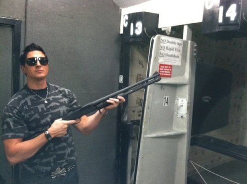 Zak...with a gun