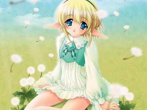 জীবন্ত elf girl