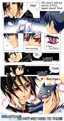 bocchan does care. . .