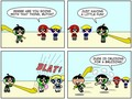 butch and buttercup - powerpuff-girls-and-rowdyruff-boys photo