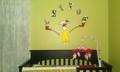 dr. seuss nursery mural