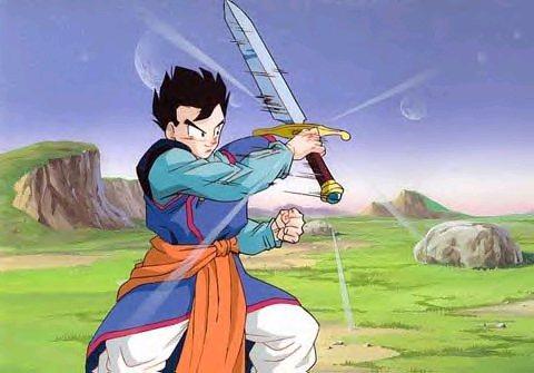 gohan with z sword