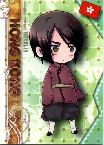 Hetalia kertas dinding possibly containing Anime titled hong kong