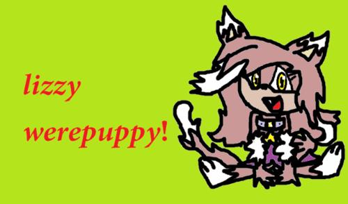lizzy werepuppy