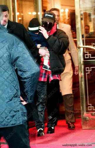 michael with baby prince