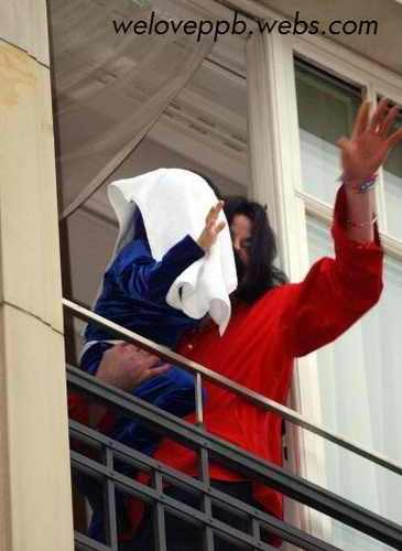 michael with prince,in germany