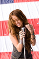 miley cyrus party in u.s.a - hannah-montana photo