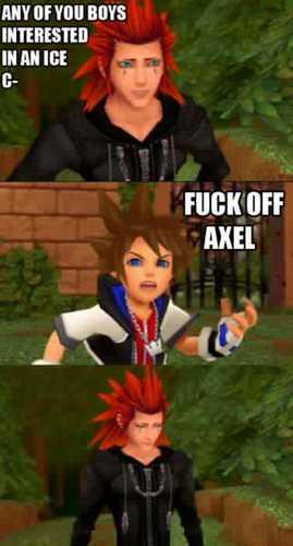 poor axel
