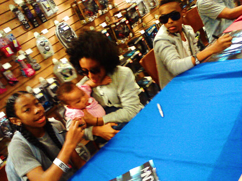 princeton holding a lil baby