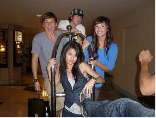 rare picture demi and selena #PPP