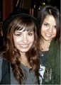 rare picture demi and selena