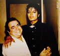 rare with frank - michael-jackson photo