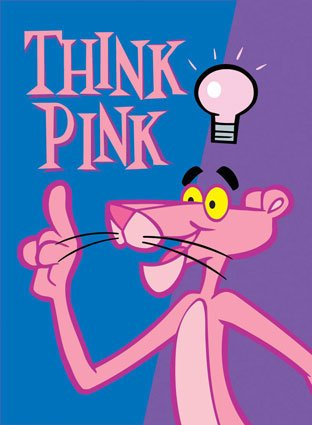 think pink panther