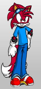 Sonic Fan Characters wallpaper with anime called zack the hedgehog/fox cassies bro (my furry)