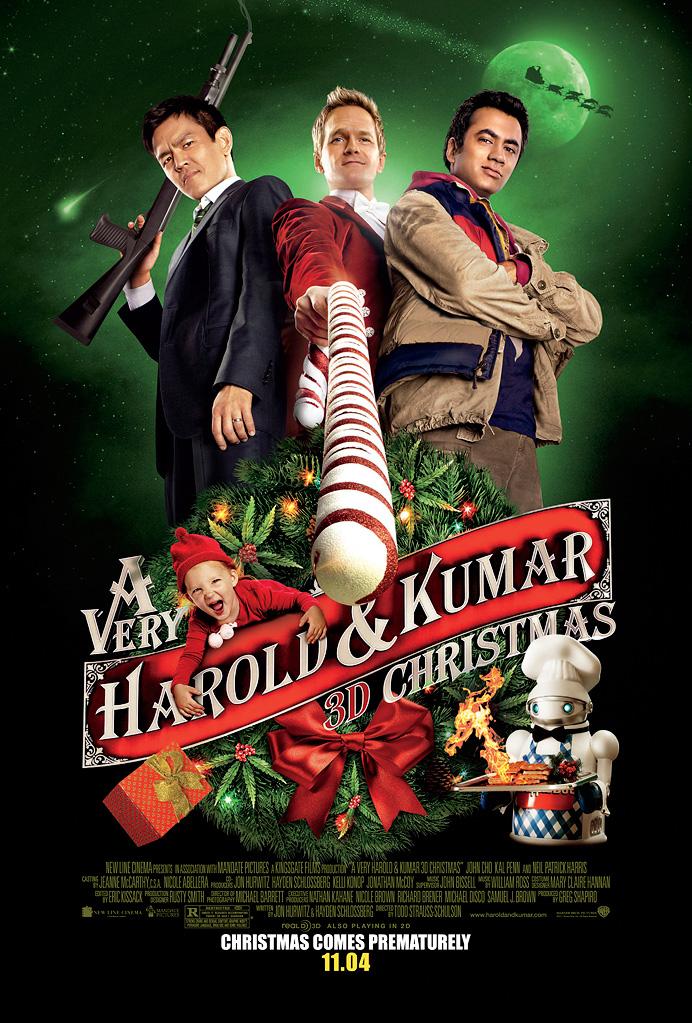 u0026 39 a very harold  u0026 kumar christmas u0026 39  promotional poster - harold  u0026 kumar photo  25173506