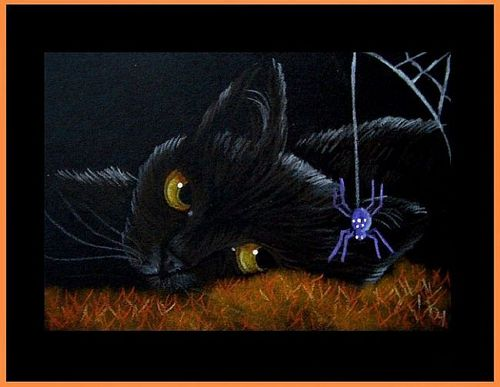 ღ Black Kitty & Friend