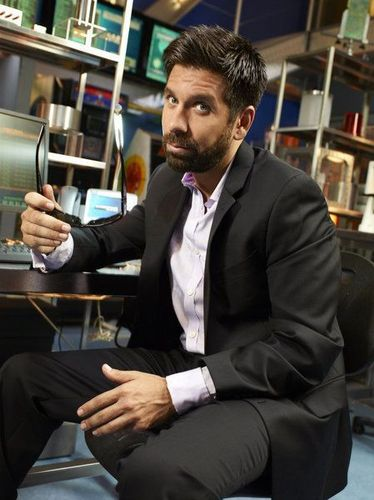 'Chuck' Season 5 Cast Photoshoot ~ Joshua Gomez as Morgan Grimes