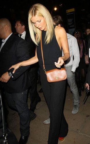Gwyneth Paltrow at the official Vogue Fashion's Night Out afterparty (September 8).