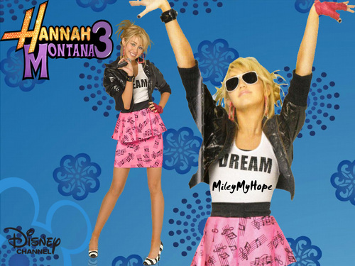 Hannah Montana wallpaper entitled ♫♫Hannah/Miley reloaded by dj♫♫