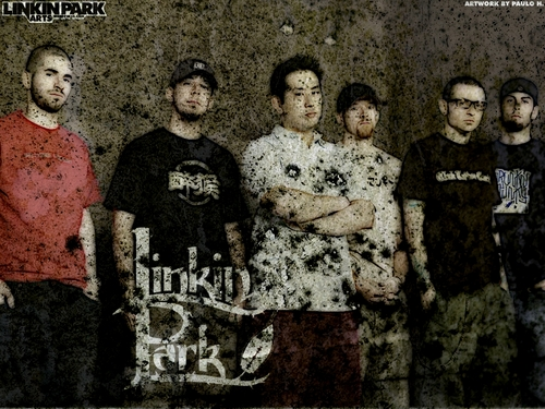 linkin park wallpaper probably containing a green beret, fadigas, fadiga, and vestido de batalha called ♥LP♥