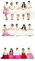 4Minute in bright hanboks
