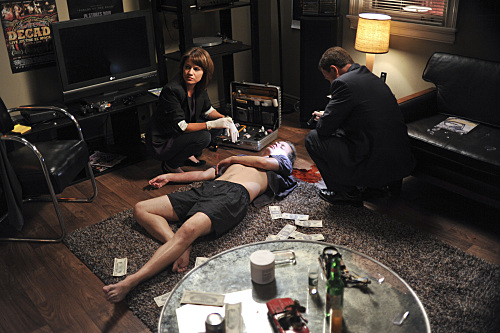 CSI:NY wolpeyper containing a family room, a living room, and a yungib called 8.02 'Keep It Real' Promotional Pictures