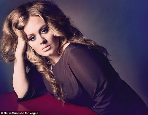 Adele 'Vogue' UK October 2011