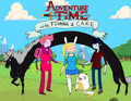 Adventure Time with Fiona and Cake
