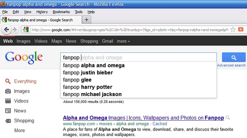 Alpha and Omega on Google