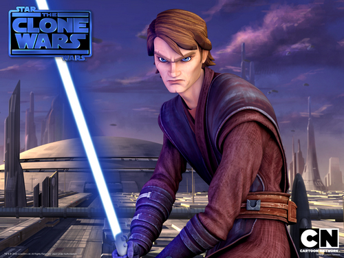 Clone wars Anakin skywalker kertas dinding possibly with a hip boot titled Anakin Skywalker