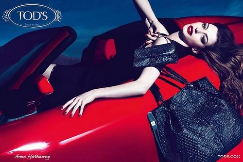 Anne fot Tod´s Handbags Campaign