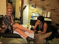 Ashley - Getting tattoos at East Side Ink in NYC with Vanessa Hudgens - September 07, 2011 - ashley-tisdale photo