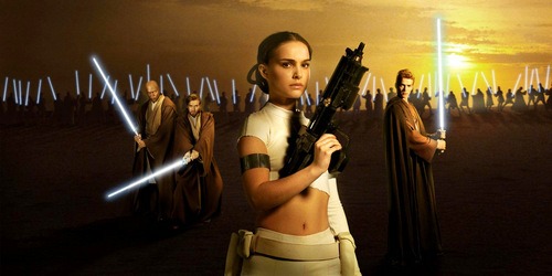 Attack of the clones Padme