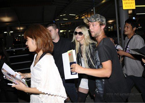 August 12: Arriving at Narita International Airport in Tokyo