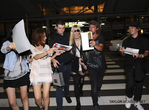 August 12: Arriving at Narita International Airport in Tokyo