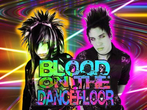 Blood on The Dance Floor achtergrond with anime titled BOTDF :D