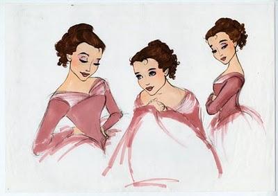 Belle Concept Art