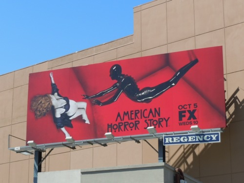Billboard for American Horror Story