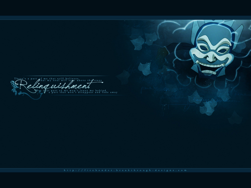 Avatar: The Last Airbender wallpaper called Blue Spirit wallpaper