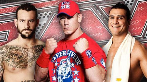 CM Punk-John Cena-Alberto Del Rio