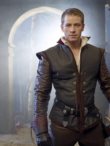 वन्स अपॉन अ टाइम वॉलपेपर probably containing a hip boot, an outerwear, and a well dressed person titled Cast - Promotional चित्र - Josh Dallas as Prince Charming/John Doe