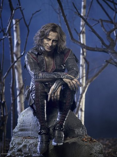 Cast - Promotional foto - Robert Carlyle as Rumpelstiltskin/Mr goud