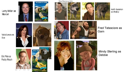 Cast of A&O Part 2