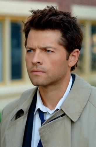 Castiel Girls wallpaper possibly with a trench coat called Castiel